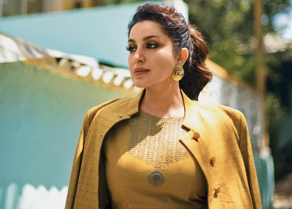 Tisca Chopra (Styling: Aneesa Gandhi and Rochelle D'sa; Make-up: Piyu Palkar; Hair: Shagufta Sayed ; Outfit, Dhruv Singh; jewellery, Eurumme)