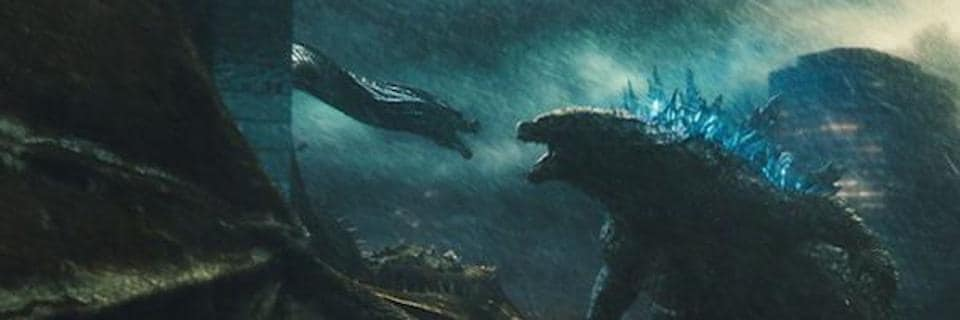 This time around, Godzilla collides with three other outsized titans to determine the fate of the planet.