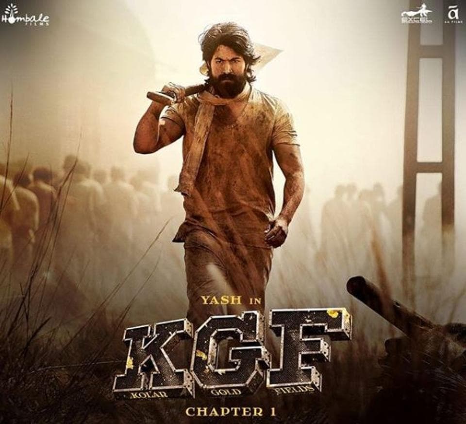 Yash's KGF Chapter 1 made an estimated Rs 100 crore at the box office.