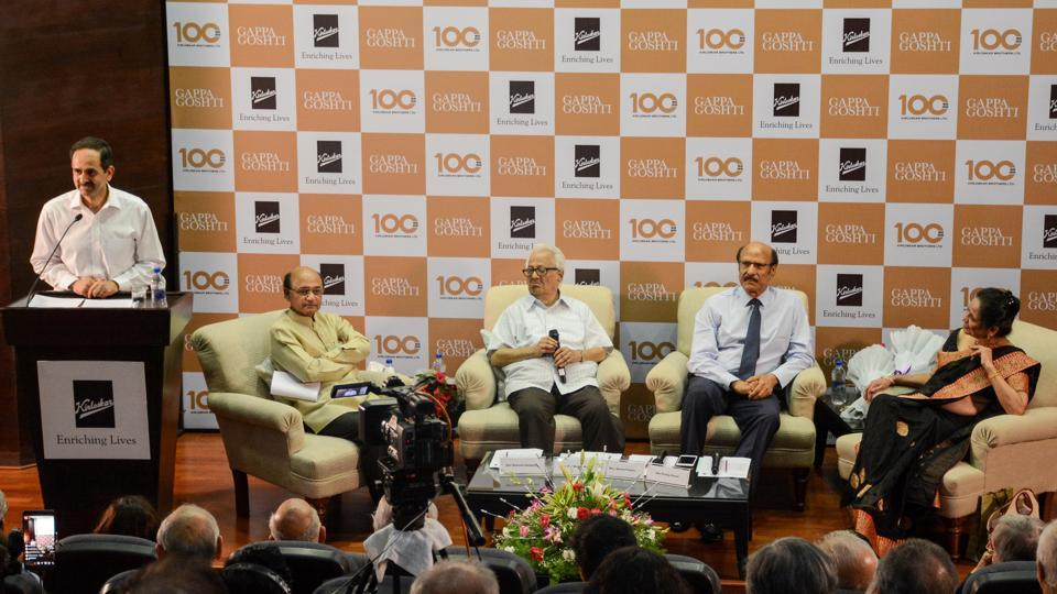 Sanjay Kirloskar, SL Kirloskar's grandson and chairman of Kirloskar Brothers Ltd, organised a 'gappa goshti' session, that gathered friends, family, former employees and old business associates, to share their experiences of Shantanurao L Kirloskar.