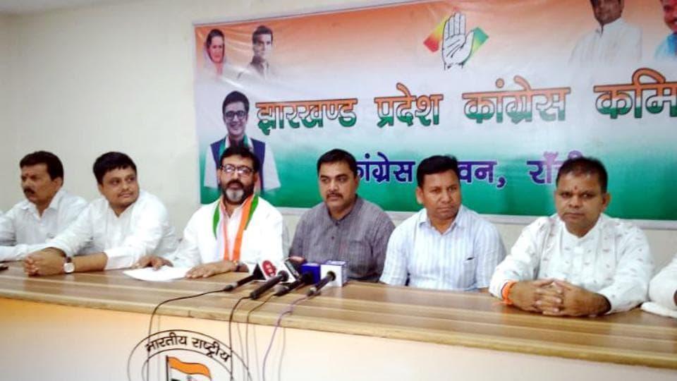 jharkhand congress,jharkhand congress chief ajoy kumar,jharkhand lok sabha polls results