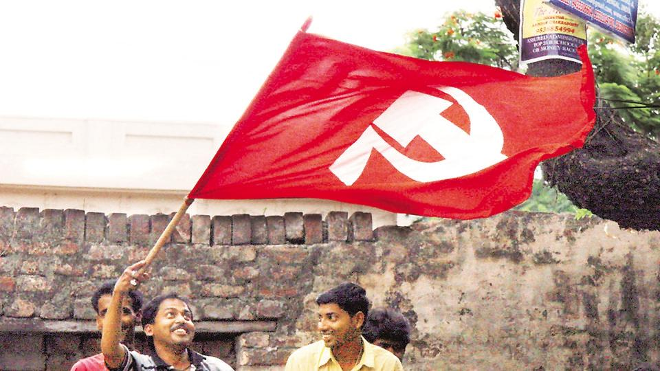 Amidst the violent clashes and political slugfest between West Bengal's ruling Trinamool Congress and the BJP, the CPI-M has reclaimed and reopened around 200 party offices which were allegedly captured by the Trinamool after coming to power in 2011. The reclamation and reopening of the offices are reported in districts like West Midnapore, Bankura, Purulia, Coochbehar, Burdwan, Hooghly, North 24 Parganas and Howrah. (Subhendu Ghosh / HT Archive)