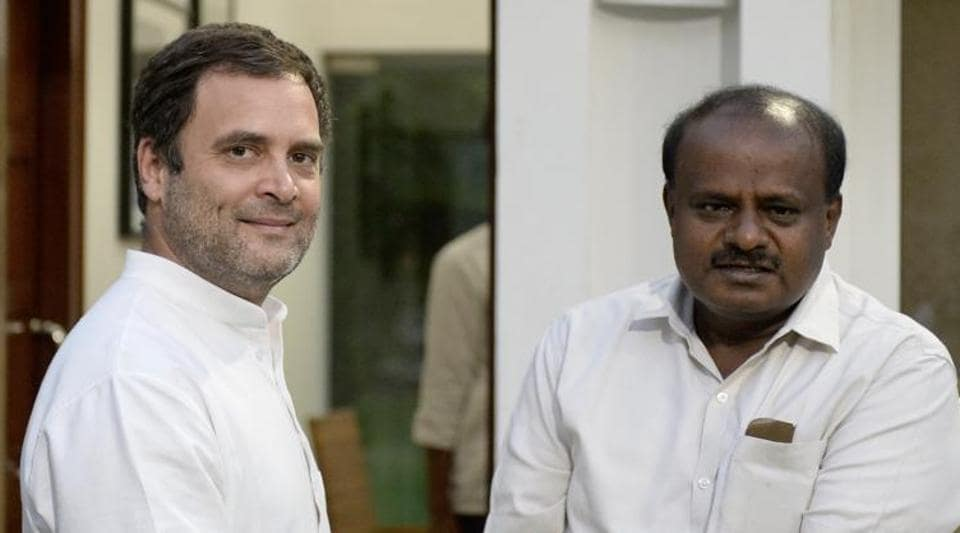 Kumaraswamy said that he had also apprised Gandhi about the political developments in Karnataka.