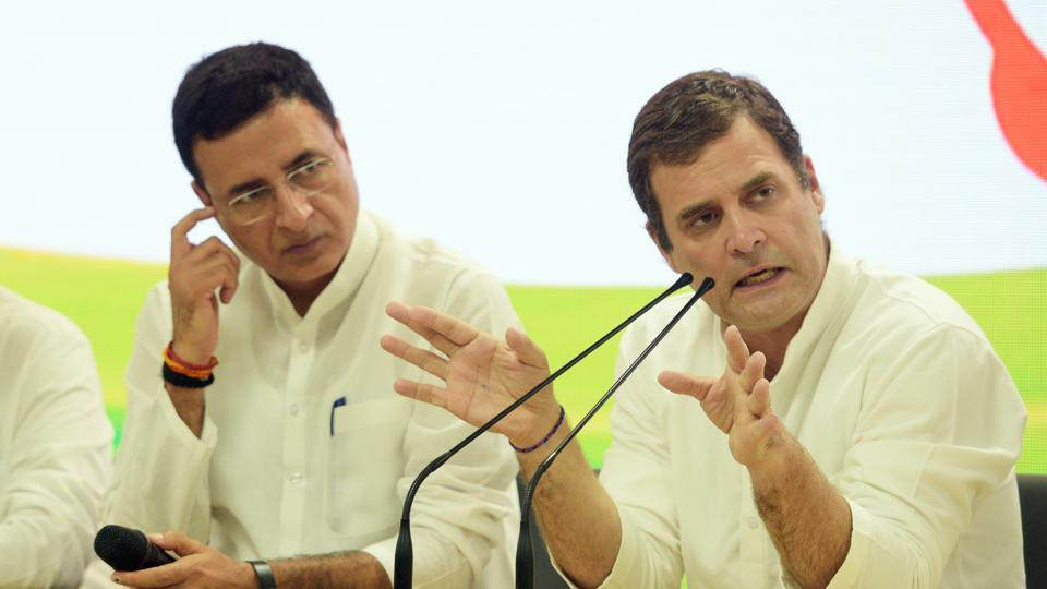 The party's chief spokesperson Randeep Singh Surjewala made the announcement about the decision on Twitter.