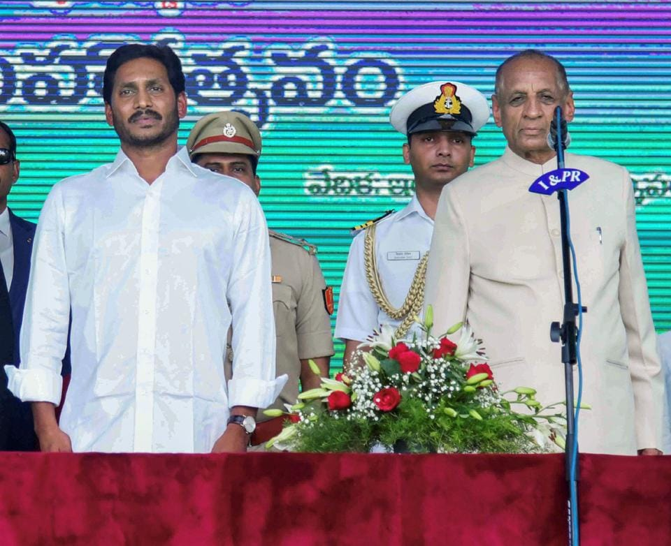 Andhra top cop shunted out as Jagan Mohan Reddy takes charge