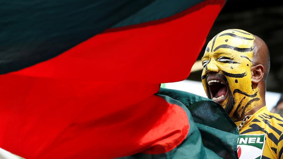Representative image: File image of a Bangladesh supporter cheering the team during a match.
