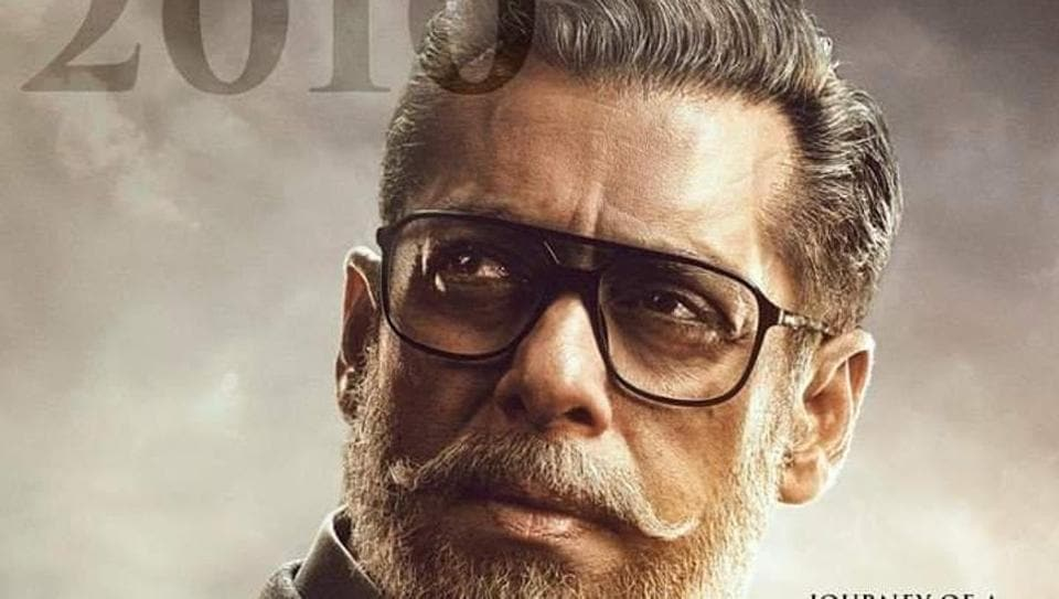 Salman Khan plays an old man in one of the portions of Bharat.