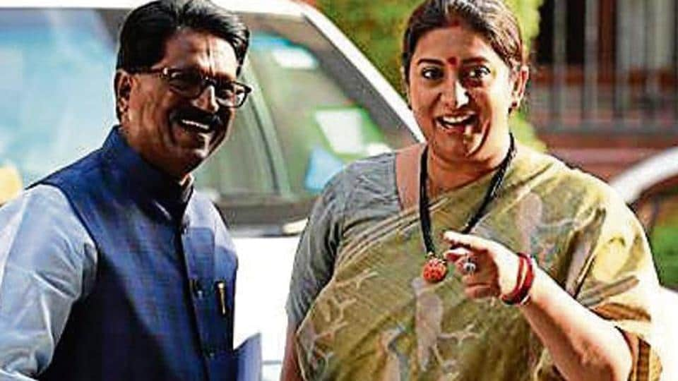 In the earlier Modi government, Irani first held the human resource development and then the information & broadcasting ministries before she was allocated textiles in July 2016