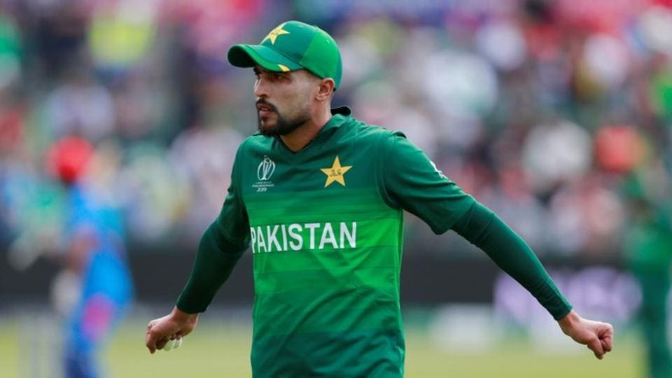 ICC Cricket World Cup Warm-Up Match - Pakistan v Afghanistan - County Ground, Bristol, Britain - May 24, 2019 Pakistan's Mohammad Amir during the match