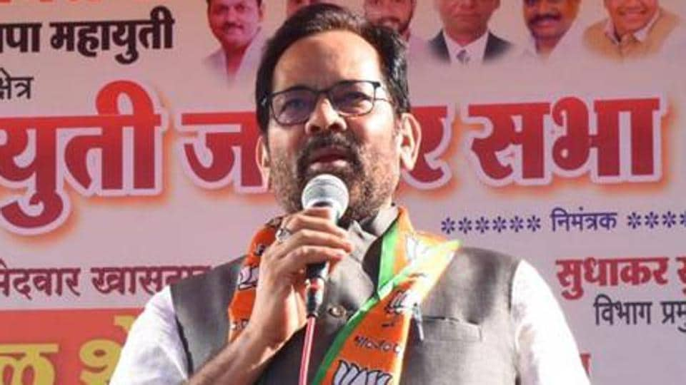 Mukhtar Abbas Naqvi has served as vice-president, general secretary and spokesman of the BJP