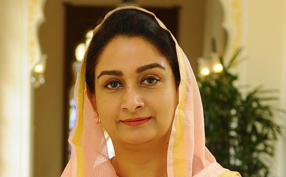 Harsimrat Kaur Badal comes back as Minister of Food Processing Industries