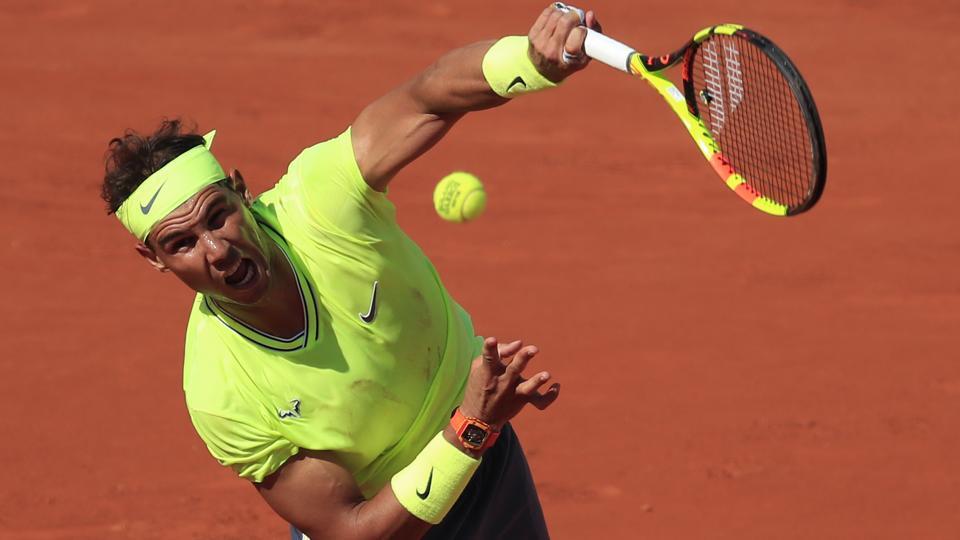 Rafael Nadal,David Goffin,French Open