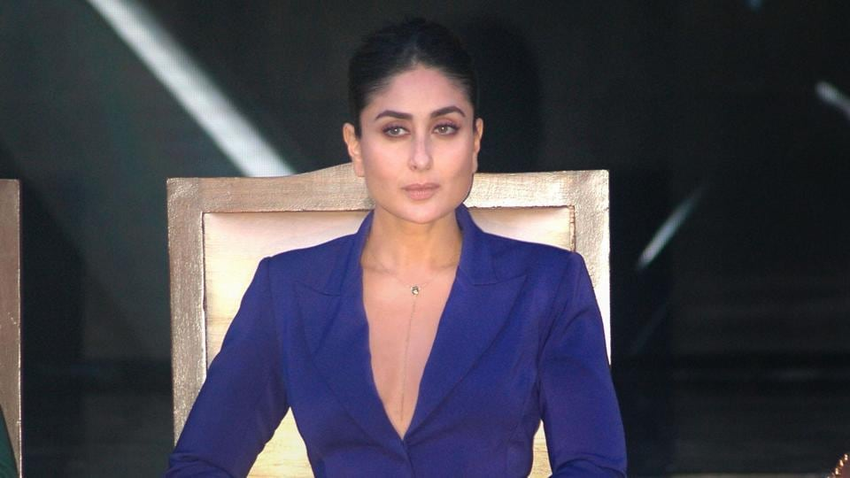 Kareena Kapoor during the launch of reality dance show, Dance India Dance, in Mumbai on May 30.
