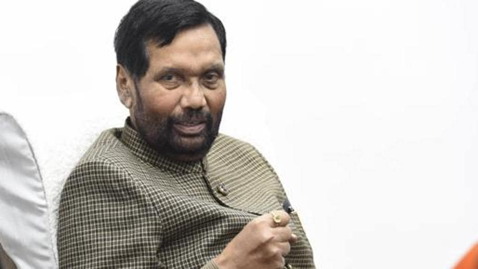 Ram Vilas Paswan,Ministry of Consumer Affairs,Ministry of Food