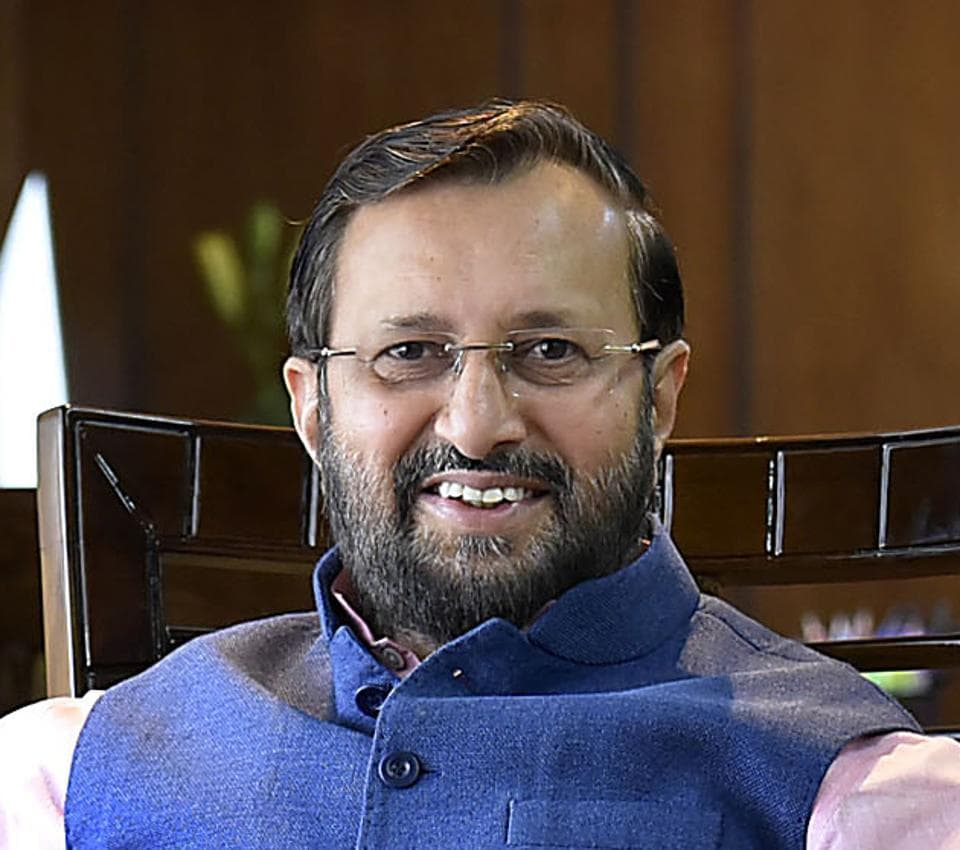 Prakash Javadekar was given the Ministry of Environment, Forest and Climate Change, and Ministry of Information and Broadcasting in PM Narendra Modi's new Cabinet.