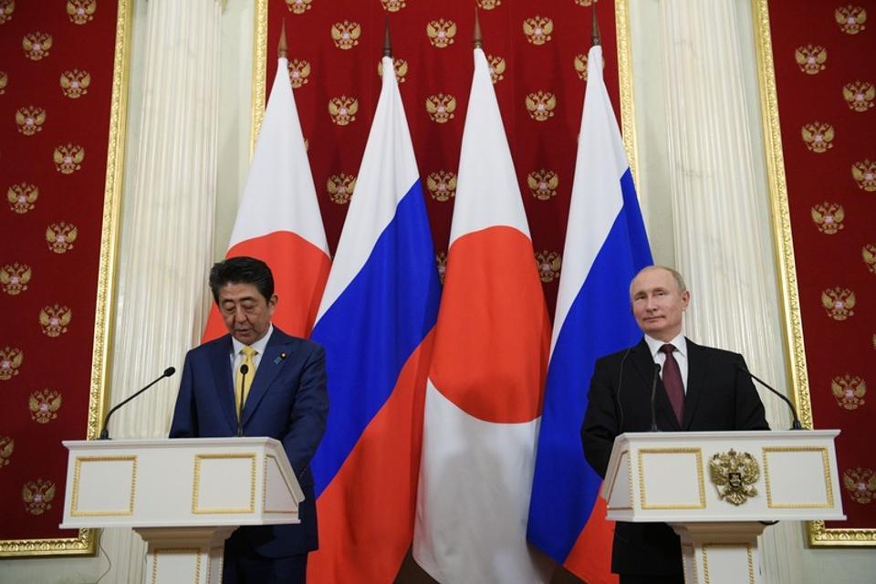 Shinzo Abe,Vladimir Putin,Japanese Prime Minister