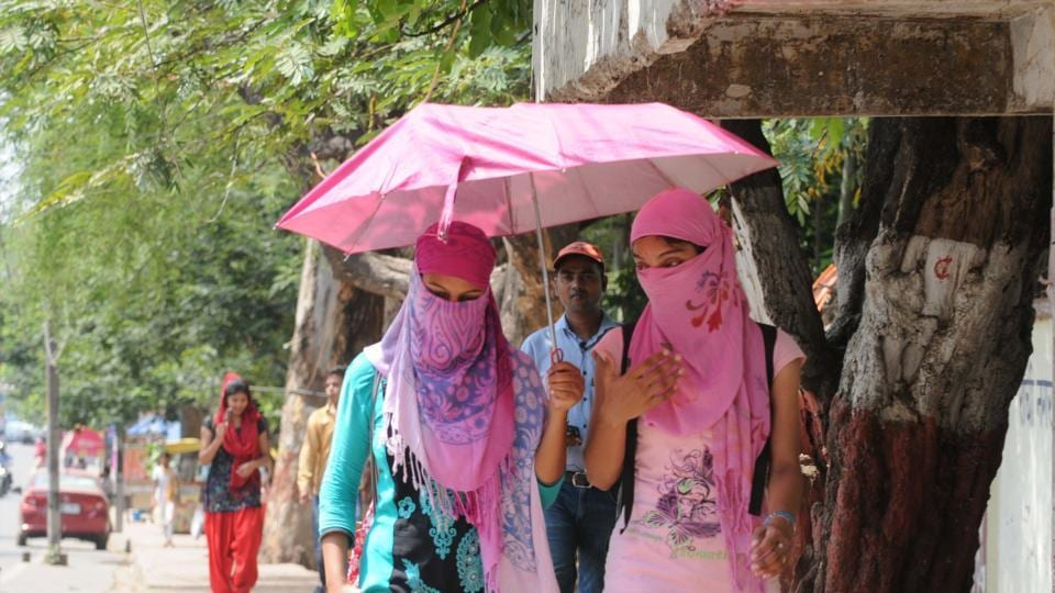 City experienced the hottest day of the season so far with the day temperature rising to 45.5 degrees Celsius.