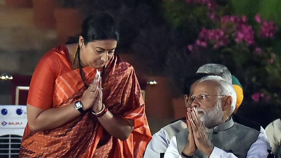 This is first time Smriti Irani has won a Lok Sabha election.