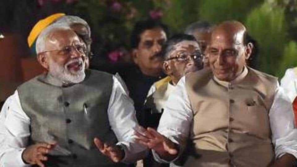 Rajnath Singh was the President of the BJP before Amit Shah took charge in 2014.