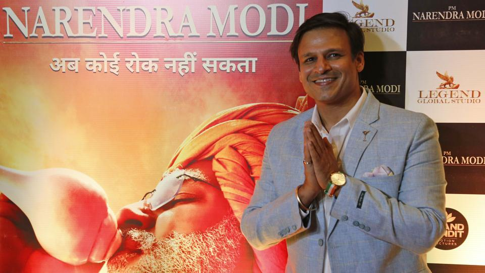 Actor Vivek Oberoi during the premiere of the film PM Narendra Modi in Ahmadabad, May 21, 2019.