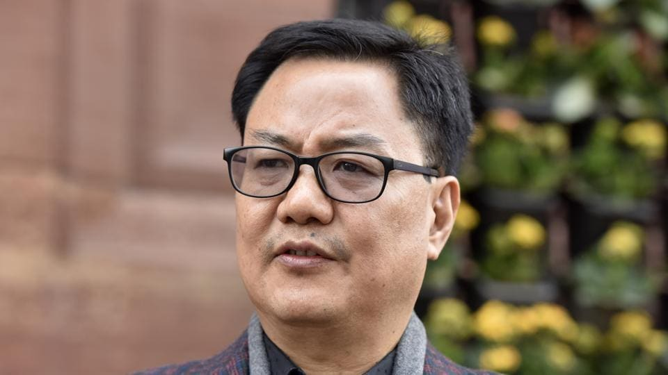 Kiren Rijiju,Ministry of Youth Affairs and Sports,Minister of State in the Ministry of Minority Affairs.