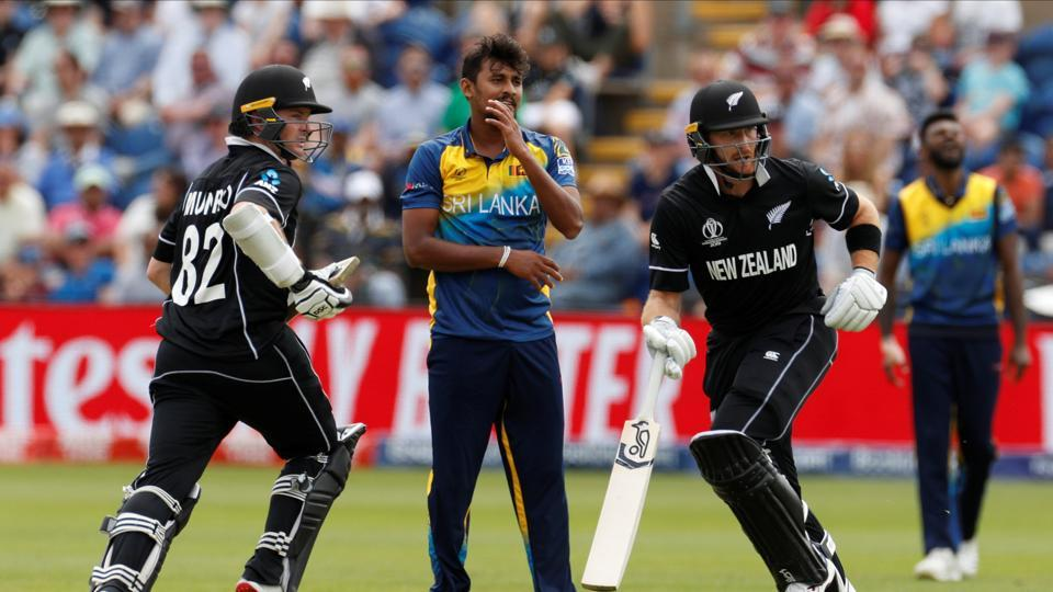 as it happened well munro nudges a length ball towards square leg and they cross over new zealand have completed a dominant win here sri lanka never