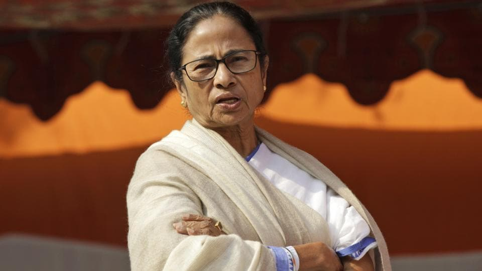 """The BJP will send 10 lakh post cards with """"Jai Shri Ram"""" written on them to West Bengal Chief Minister Mamata Banerjee, a party leader said Saturday."""