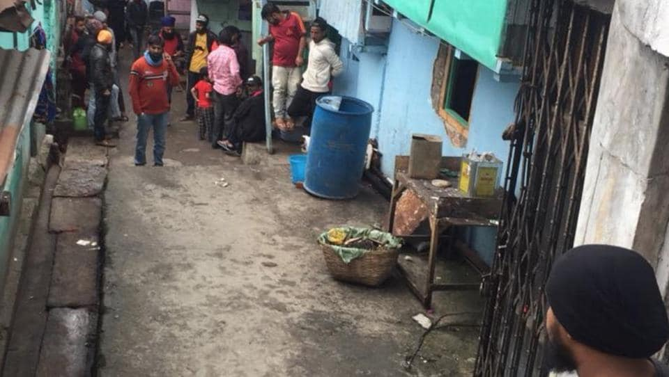 NRC,Conrad Sangma,eviction Punjabi lane