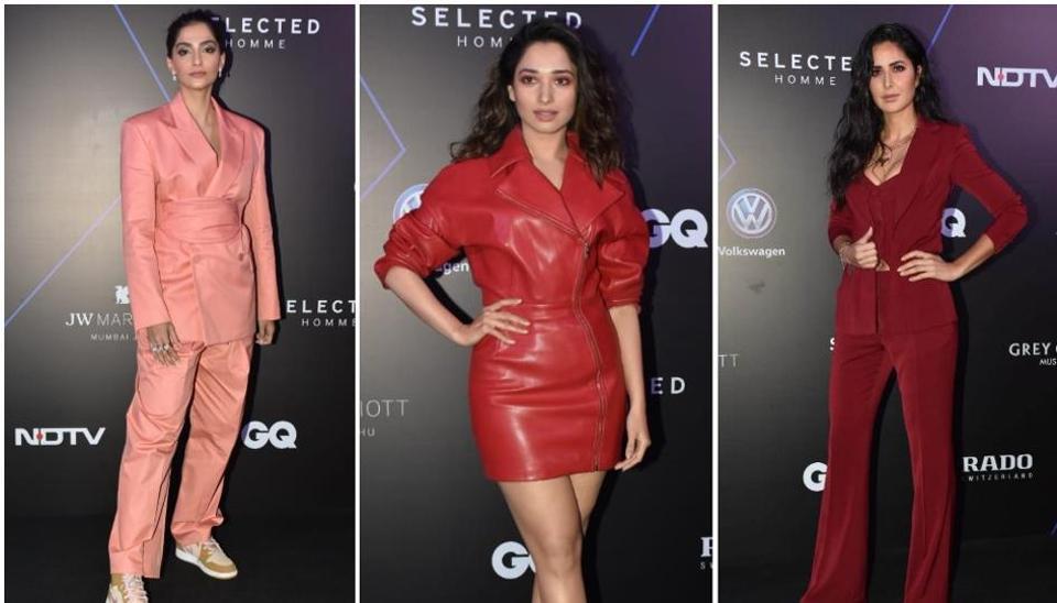 Sonam Kapoor, Katrina Kaif, KaranJohar among others graced the GQ 100 Best Dressed Awards 2019.