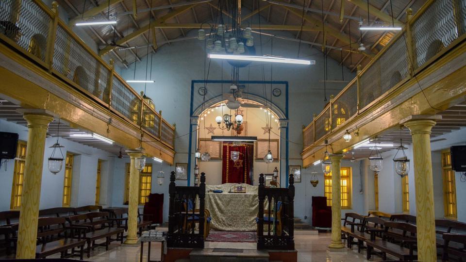 Succath Shelomo Synagogue, Jewish lane, Rasta peth in Pune.