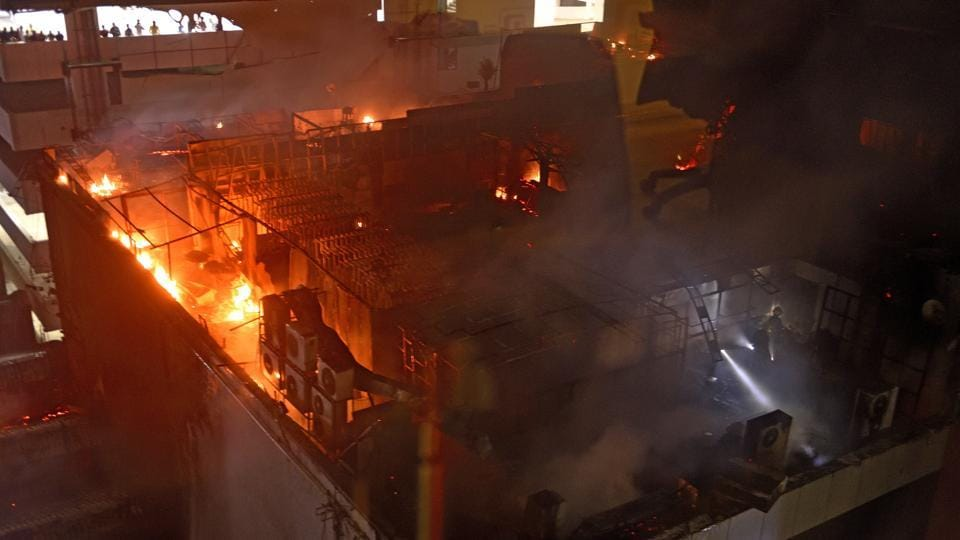 South Mumbai has seen some deadly fires, including the December 2017 fire at Kamala Mils, in the past few years.