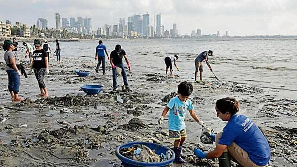 "The clean-up was scheduled on June 1, 2 and 5. ""The enthusiasm among citizens to change the way we view our coastline and rivers is heart-warming,"" said Shishir Joshi, chief executive officer and co-founder, Project Mumbai."