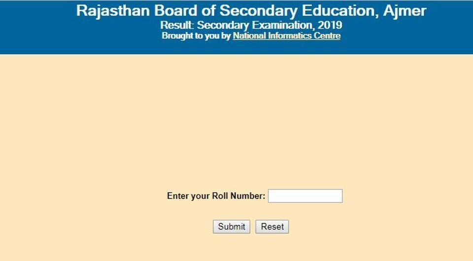 RBSE 10th result 2019: Where and how to check Rajasthan 10th board