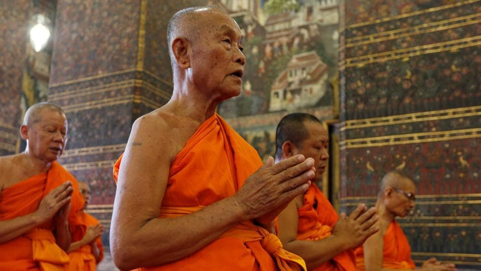 Protests by Buddhist monks force two Muslim governors to