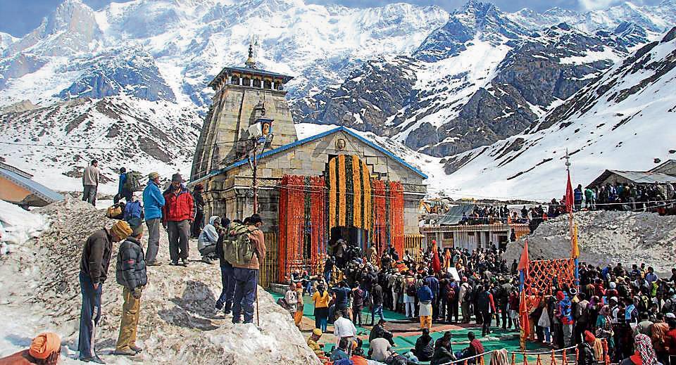 kedarnath shrine,dark tourism,satpal maharaj
