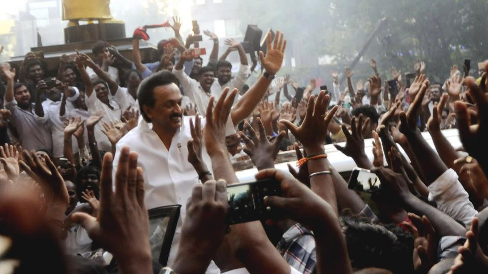 Dravida Munnetra Kazhagam (DMK) president MK Stalin on Monday attacked the Centre and said that the revised draft National Education policy (NEP) is government's attempt to hoodwink Tamils.