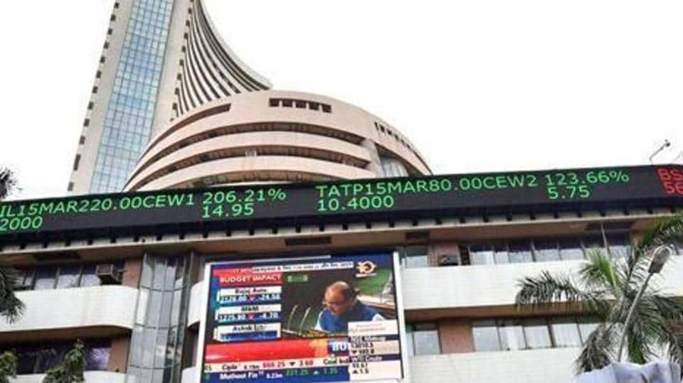The Sensex and Nifty rose on Monday, despite weak gross domestic product (GDP) data.