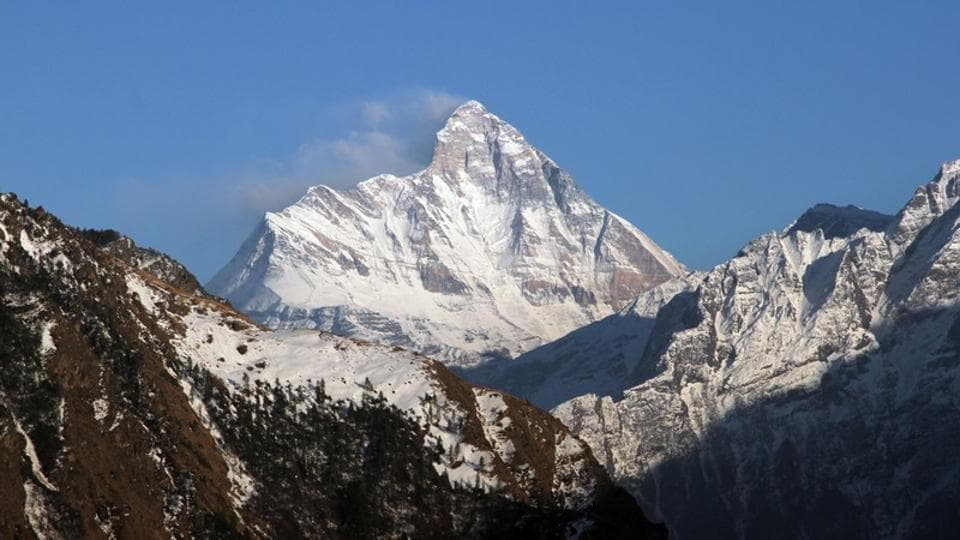 Rescuers said the bodies were trapped in an avalanche near the  Nanda Devi East peak.