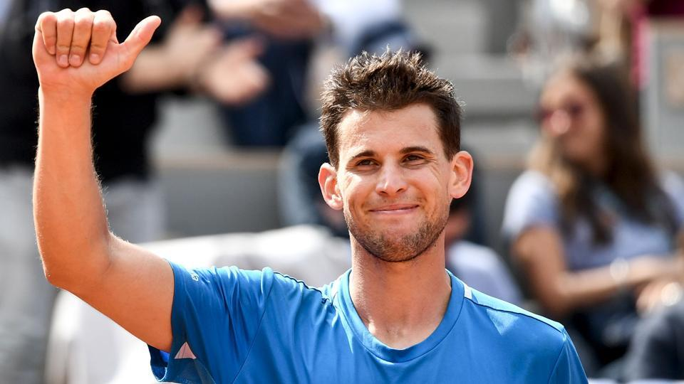 Dominic Thiem tames Gael Monfils to advance into last eight in French Open