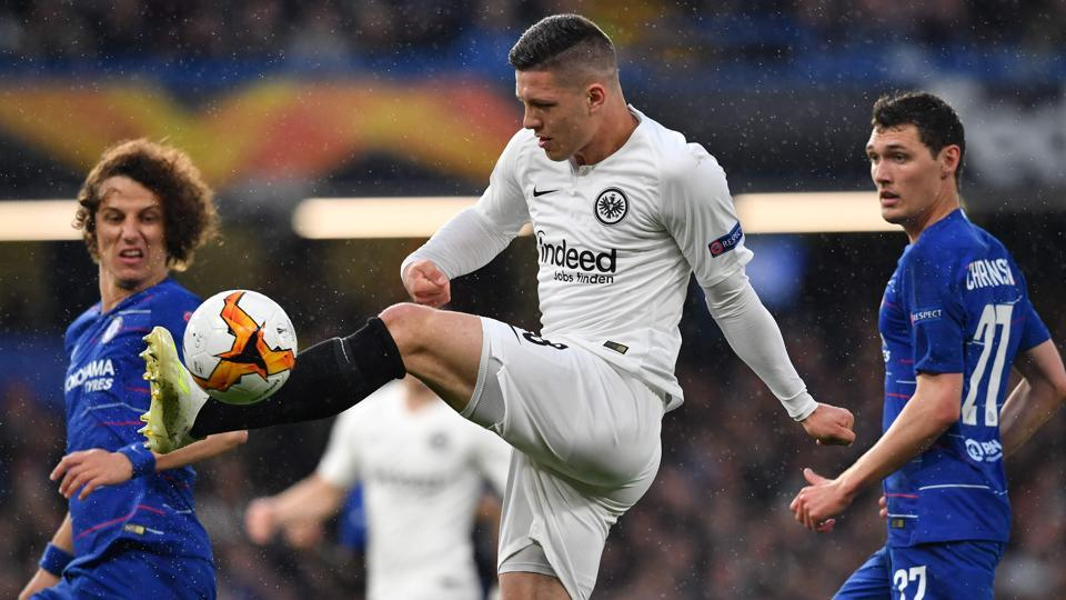 Real Madrid sign Serbian striker Luka Jovic from Eintracht ...