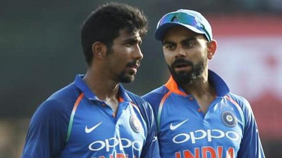 The Indian team has both the world rank one batsman in Virat Kohli and the world rank one bowler in Jasprit Bumrah.
