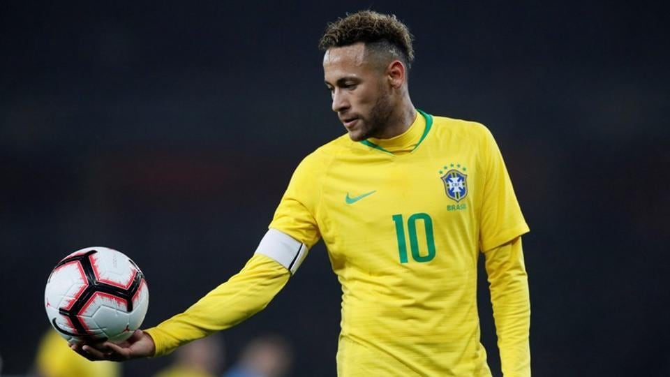 File picture of Neymar