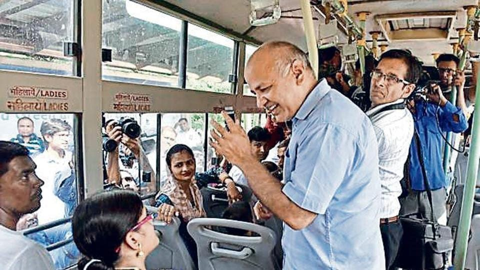 Most female passengers the minister spoke to on the buses said they feel safer in public transport instead of cabs or para-transit modes like auto-rickshaws.