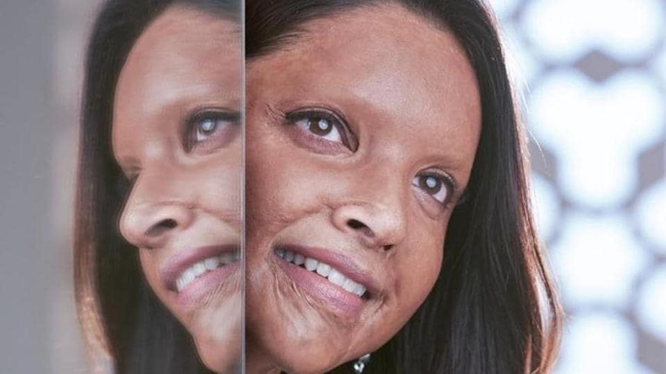 Deepika Padukone in the first look of her character from Chhapaak.