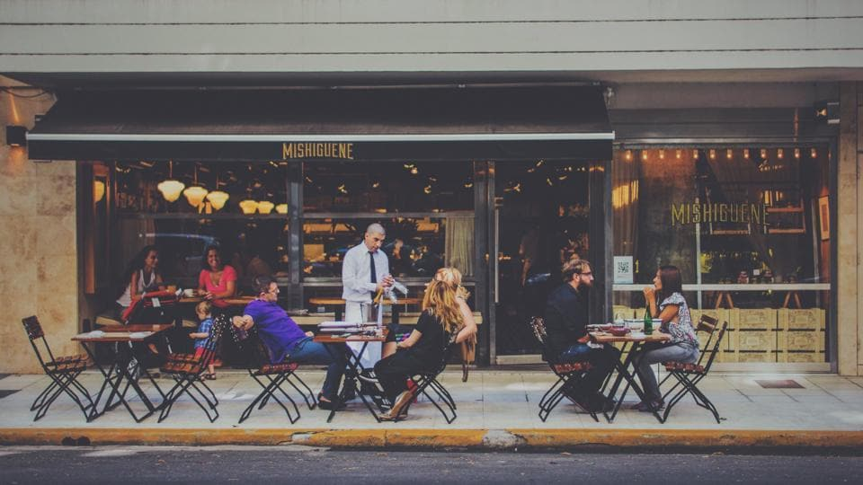 Be a guest, not just a customer when seeking great hospitality at a restaurant.