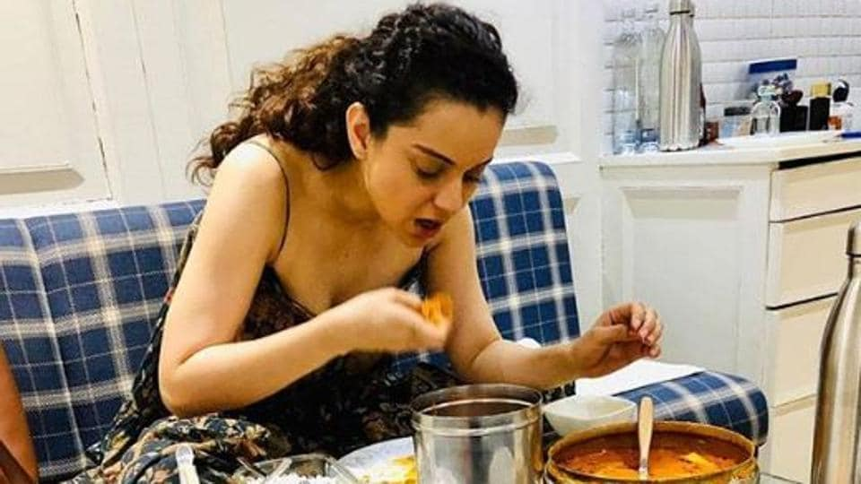 Kangana Ranaut, who is currently busy with her film Panga, has been practicing hard for the role.