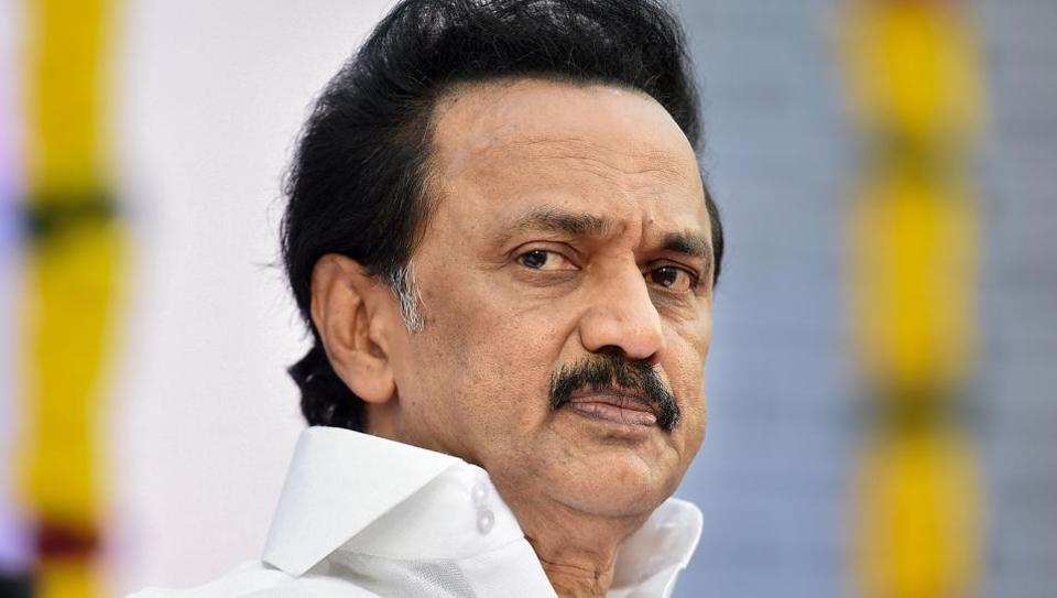 DMK chief MK Stalin Wednesday demanded that Tamil be made an official language in all central government offices
