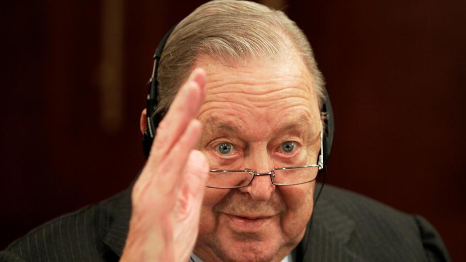 FILE PHOTO: Former UEFA President Lennart Johansson