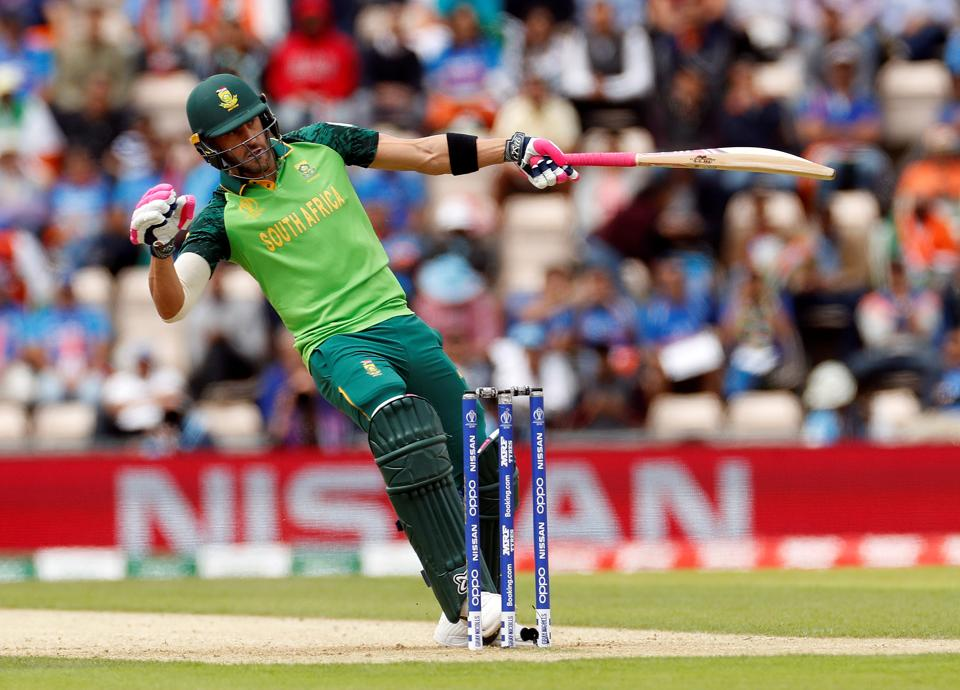 South Africa's Faf du Plessis in action. (Action Images via Reuters)