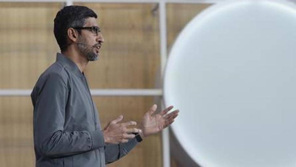 Sundar Pichai,Google,Nasdaq